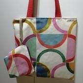Tote Bag Divertidas para tus compras mañaneras o tus paseos a la tarde. #bolsasparatodo #bolsospersonalizados #costuracreativa #costuraterapia♥ #nuevosproyectos2021 #totebag