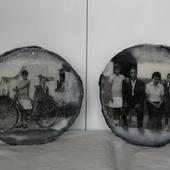 Bonito trabajo inmortalizando fotos del pasado que eso siempre gusta. Gracias familia! #transfer #nuevosproyectos2021 #homedecor #hechoamano #hechoconpasion #decoraciónhogar #handmade  #apoyaalpequeñocomercio #dekorain